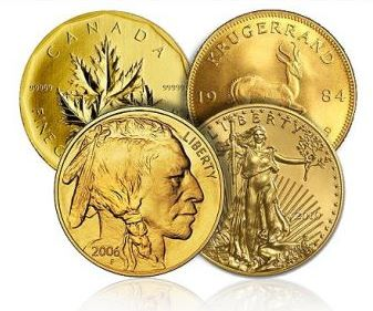 gold bullion coins Is There a Price Relationship Between Gold Bullion and Rare Gold Coins?