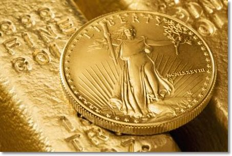 gold coin bar shadow1 Is There a Price Relationship Between Gold Bullion and Rare Gold Coins?