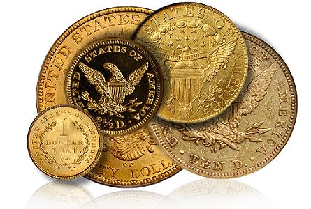 The First Stack's-Bowers Auction, Part 2, Gold Coins