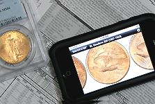 Small Coin Shows and Smart Phones