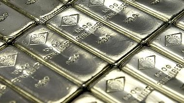 silver bars Fed's printing press likely to boost bullion through June.