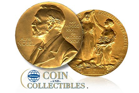 whitman nobel prize The Spring Baltimore Coin Show Market Report