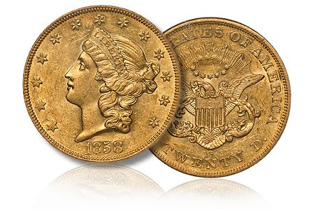 Coin Profiles: The Eliasberg 1858-O $20.00 Gold Double Eagle