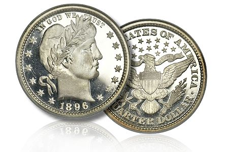 1896 25c pr69staruc The strong market for classic Proof U.S. coins