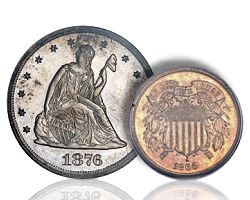 Through the Numismatic Glass: Two Cents Worth