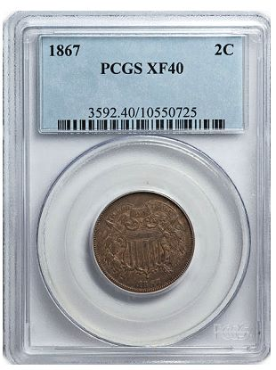 2c xf pcgs Coin Rarities & Related Topics: Collecting Two Cent Pieces