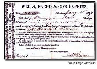 Wells Fargo1 A Gold Coin Treasure in San Pedro Bay?   or   Just Another Tale of Wells Fargo?