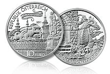 Austrian Commemorative Coin Profile – The Lindworm of Klagenfurt