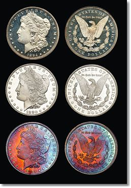 morgan dollar group Coin market affected by silvers recent tumble