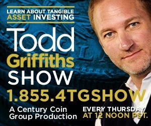 todd griffiths radio Numismatics Expert Todd Griffiths Launches Blog Talk Radio Show