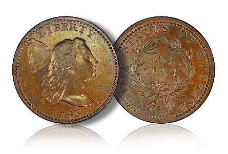 1793 LibteryCapCent PCGS Hosts Tantalizing First Peek at Finest U.S. Type Set at Chicago ANA Show