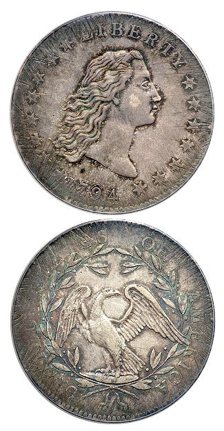 1794 dollar roach lb Top rarities like 1794 silver dollars in high demand at $22M+ Long Beach coin auctions