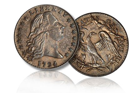 1794 h10 sb june2011 Coin Rarities & Related Topics: The June 2011 Baltimore Auction, part 1, copper and silver