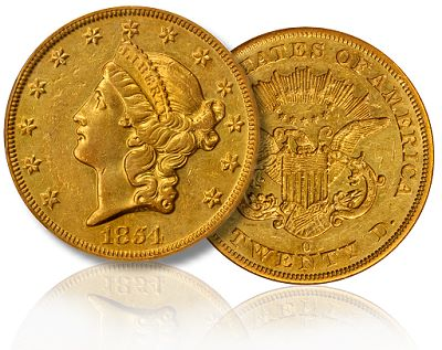 1854 O 20 boston2010 sm The State of the Liberty Head Double Eagle Coin Market: 2011