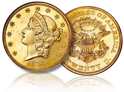 1856 O specimen 20 ha lb09 The State of the Liberty Head Double Eagle Coin Market: 2011