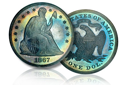 Coin Profiles: San Diego Collection of Proof Seated Dollars