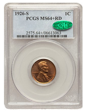 1926 s 1c lb20111 Coin Rarities & Related Topics: The June 2011 Long Beach Auction, with emphasis on Lincoln Cents