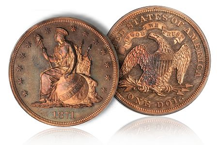 Coin Rarities & Related Topics: The June 2011 Baltimore Auction, part 2, patterns and gold coins