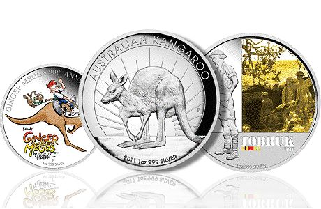 PerthReleasesJune 1 The Perth Mint July 2011 New Coin Releases