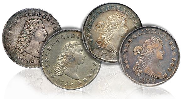 dollars group gr Coin Rarities & Related Topics: Prize silver dollars in the Hesselgesser Collection