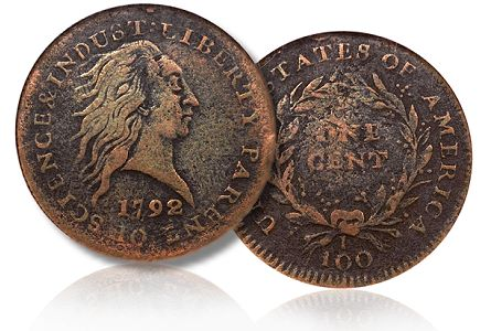 Important 1792 Fusible Alloy Cent, Judd-2 to be offered in Chicago