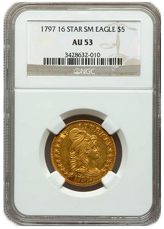 1797 5 16star ngc53 Rare Gold Shines In $11 Million Summer FUN Auction