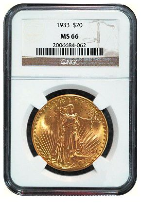 1933 saint ngc ms66 Pricing the priceless: Whats a 1933 $20 gold double eagle worth?