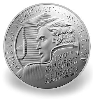 Official Medal for 2011 World's Fair of Money Honors History of Host City