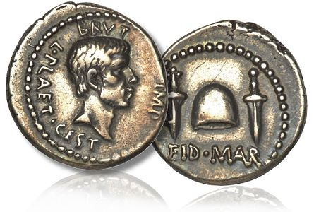 brutus ides The Most Famous Ancient Coin Of All