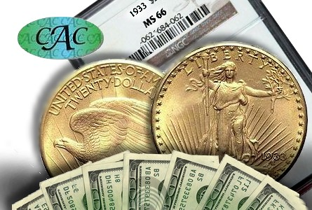cac 20mil 1933 CAC Offers $20 Million For 1933 Double Eagles