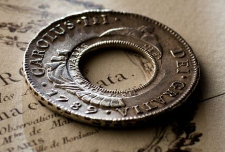 coinworks holey dollar june2011 Historic Australian Holey Dollar Fetches Record Price $485000