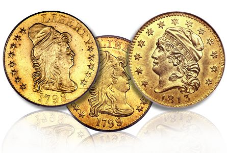 Coin Rarities & Related Topics: The Summer FUN Auction, part 2, early gold