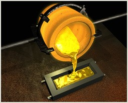 gold pour Dillon Gage to Open Larger Precious Metals Refinery in Dallas