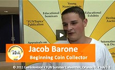 Young Numismatist Jacob Barone on Collecting