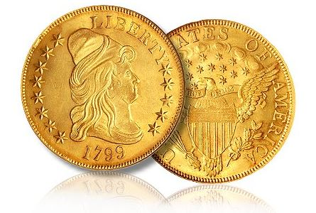 1799 10 eagle small eagle ms64 How to Add Value to Your Early Gold Collection