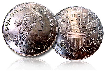 Coin Profiles – Unique and Unusual Numismatic Items – Electrotype 1804 Dollar Certified by PCGS