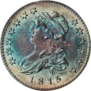1815 hd gr21 Coin Rarities & Related Topics: The Rarities Night auction, part 2; Dimes, Quarters & Half Dollars