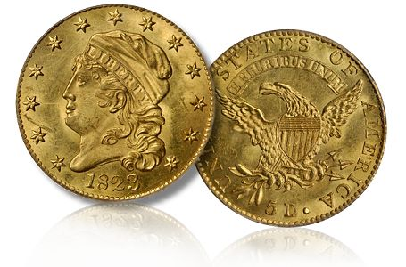 1823 5 chicago2011 Coin Rarities & Related Topics: The Rarities Night auction, part 3, Gold Coins
