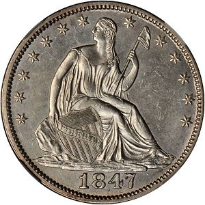 18476overdate1 Coin Rarities & Related Topics: Rarities Night, part 5; Post Auction Analysis of Silver Coins