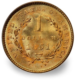 US Gold Dollar Coin