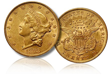 Carson City Mint Gold coins