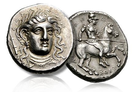 ancient coins,Alexander-of-Pherai,