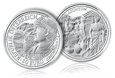 "AustrianMintCoin Austrian Mint Announces Fourth Coin in ""Rome on the Danube"" Series"