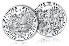 "Austrian Mint Announces Fourth Coin in ""Rome on the Danube"" Series"