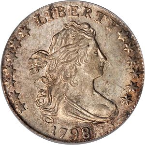 Eliasberg1798dimeObv Coin Rarities & Related Topics: Rarities Night, part 5; Post Auction Analysis of Silver Coins