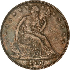 Half1860Oobverse Coin Rarities & Related Topics: Rarities Night, part 5; Post Auction Analysis of Silver Coins