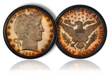 "Spectacular #1 Barber Halves Set, ""University of Rare Coins"" at Sept. 2011 Long Beach Expo"