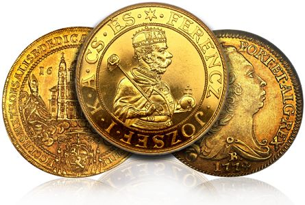 World Gold Coins from Eliasberg Collection