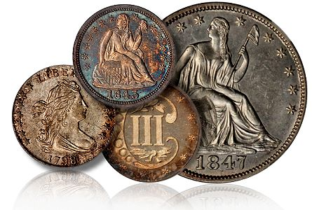 gr part5 Coin Rarities & Related Topics: Rarities Night, part 5; Post Auction Analysis of Silver Coins