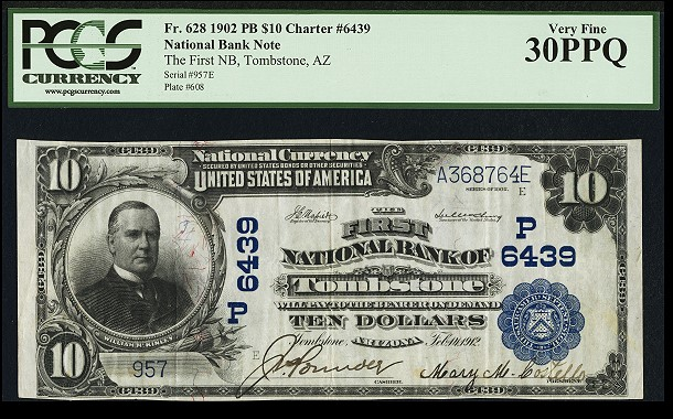 ha tombstone note More than 5,600 Currency Lots offered in Heritage Long Beach Auction